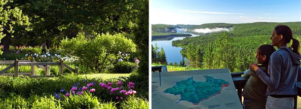 Jardin botanique de Montréal et le parc national de la Mauricie