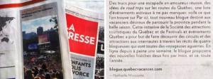 Article de Nathaëlle Morissette au sujet du blogue Par Ici