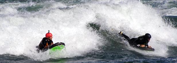 Luge d'eau avec Rafting Montréal