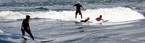 Surf de rivière avec KSF