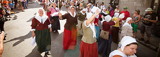 Fêtes de la Nouvelle-France SAQ, crédit photo XDachez.com