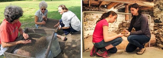 Mois de l'archéologie, crédit photo : Archéo-Québec / S.P. Balouk / Musée Marguerite-Bourgeoys