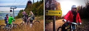 Vélo de montagne au Mont-Sainte-Anne, l'activité parfaite de l'automne