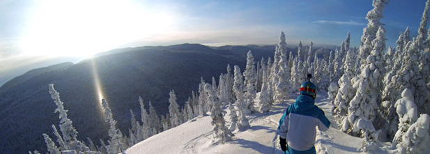 Station de ski Mont-Édouard au Saguenay–Lac-Saint-Jean