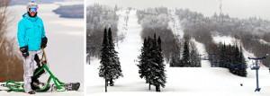 Véloneige à Ski La Réserve