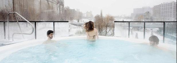 Bota Bota, spa-sur-l'eau